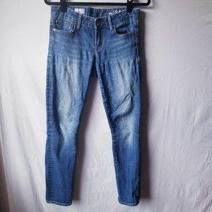 GAP 1969 Always Skinny Jeans Med Wash Mid Rise 27R